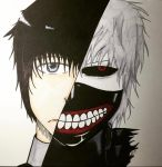 Tokyo Ghoul by PrincessPineappleArt