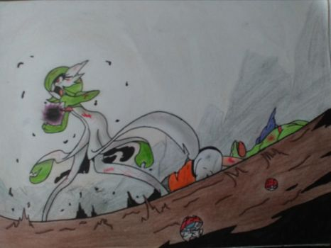 Gardevoir's last stand by Mobslayer2201