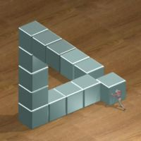 Impossible triangle by magicbob3D