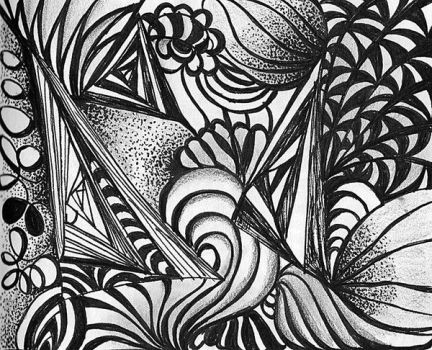 Zentangle3 by savajam