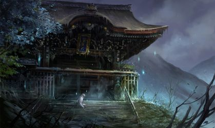Old Temple by sandara