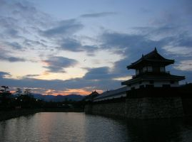 Hiroshima Castle by Lissou-photography