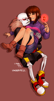 [UNDERFELL] Just try by Anorha-Nono