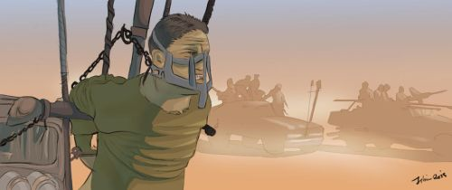 Mad Max fury road fan art by jibrinarts