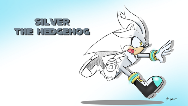 Wallpaper -  Silver Drawn by Star-Rocket