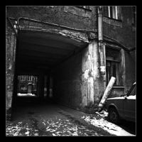 Russian Alleyways 01 by perry