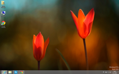 Windows 8 First View by crazytux