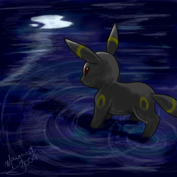 Umbreon for Jean by bubblez