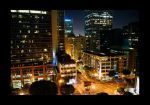 Los Angeles at Night by dx