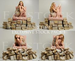 Exclusive Storytime Stock Pack1 by faestock