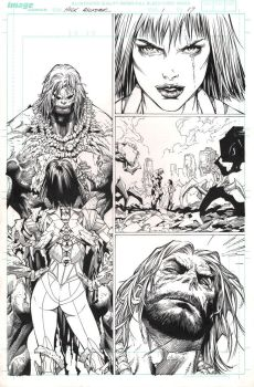 The Incredible Hulk - Issue 1 Page 17 INKS by MichaelBroussard