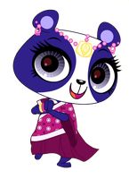 Lps Penny Ling In Indian Outfit Vector by Varg45