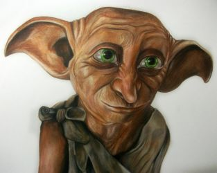 Dobby Speed drawing by KirstyPartridgeART