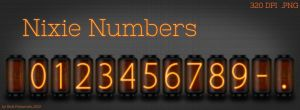 Nixie Tube Numbers [Resource] by NickPolyarush