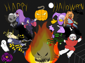 happy halloween! by M3gaSn1p3r