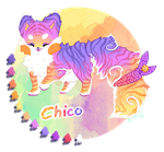 Chico the sushi cat - reference sheet by StanHoneyThief