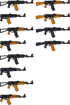 AK-74s by Blick-Blanks