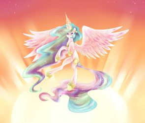 Celestia Raises the Sun by dream--chan