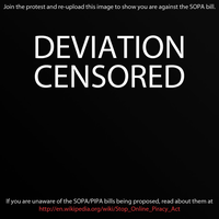 Stop SOPA... by Delragon