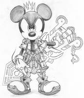 King Mickey Fan Outfit by d-AspiringAmeture-b