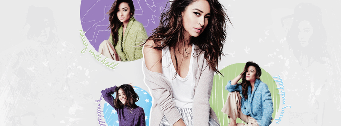 +Shay Mitchell Facebook Cover by GayeBieber94