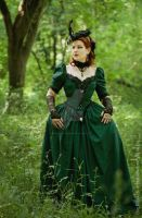 Green Countess II by MADmoiselleMeli