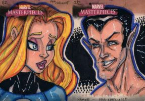 Marvel Masterpieces - 2008 B by PatCarlucci
