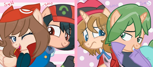 (PKMN) // Ponified Pokemon OTPs by Tuff--Rubies