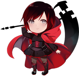 FREE Ruby Rose pagedoll by Sunnypoppy