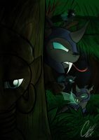 Changeling Threat by TheRavenCriss