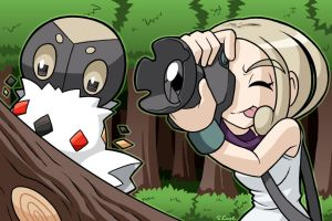 Photography gym leader Viola by rongs1234
