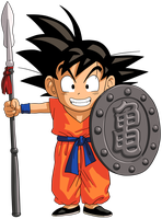 Dragon Ball - kid Goku 26 by superjmanplay2