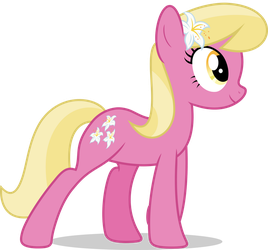 Mlp Fim Lily Valley (happy) vector by luckreza8