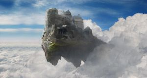 Castle in the clouds by everlite