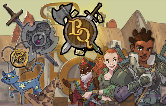 Bargain Quest is live on Kickstarter! by Skyserpent