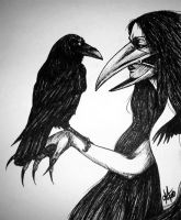 RAVEN GODDESS by sickdelusion