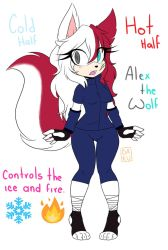 Alex the Wolf by Dickzy