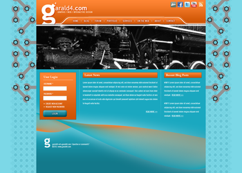 garald4 Drupal Website 2011 by garald4