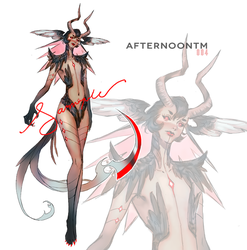 [closed] Adoptable Auction #004 by Afternoontm