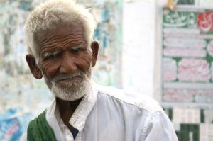 Portrait of a Poor Old man by altamashu