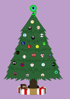 #egochristmas Day 5- Christmas Tree by Luci-Morningstar