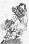 Tales of Avalon Pin-up pencils by 2depaus