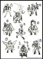 Wolves Fighter Sheet by TheInsaneDingo