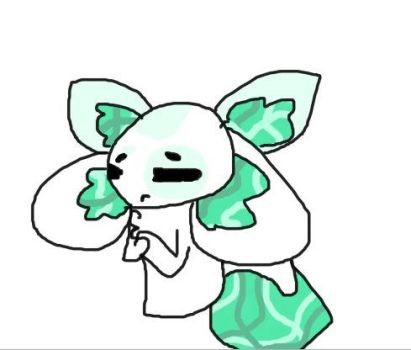 Minty Cat Mouse adopt closed by crackedkitten