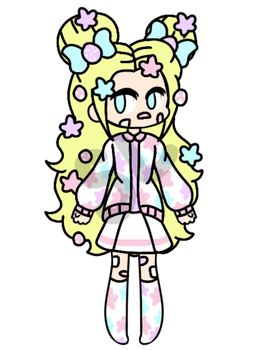 {CLOSED!/CHEAP AUCTION} - Sweet Star Girl by CheapClothesAdopts