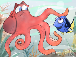 Finding Dory by Whitexkitty