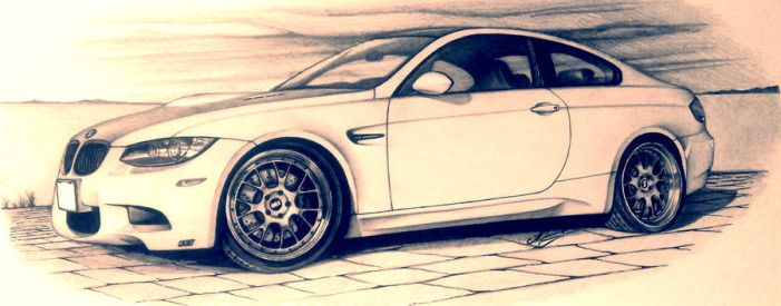BMW E92M3 by Andrew-BBS