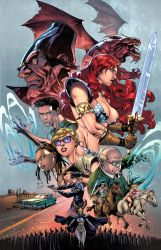 Red Sonja #16 by zaratus