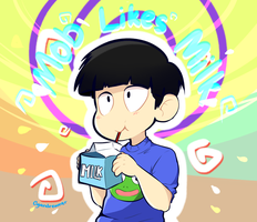 Mob Likes Milk by cyandreamer