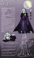 The Divide: Caius, the Advisor by Artic-Blue